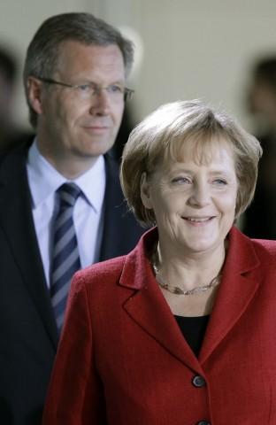 Angela Merkel, Christian Wulff