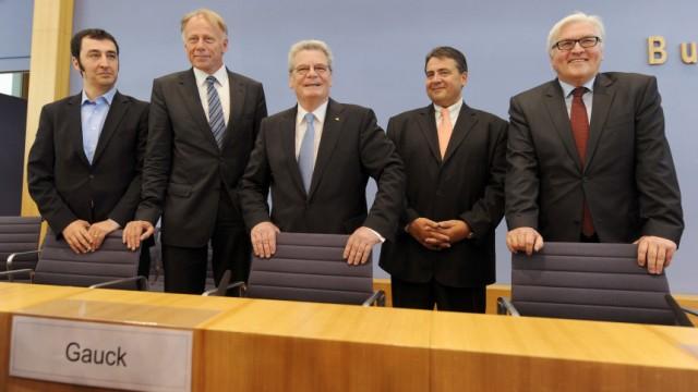 Gauck soll Bundespräsident werden