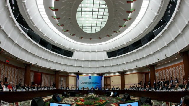 G-20 Finance Ministers And Central Bank Governors Meeting Begins