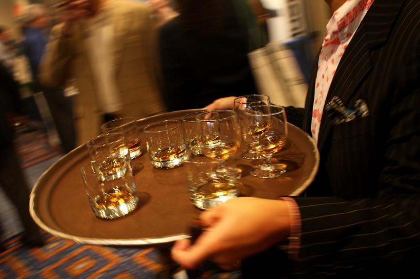 Cigar Conneisseurs Gather To Smoke Handmade Cigars And Enjoy Premium Drinks