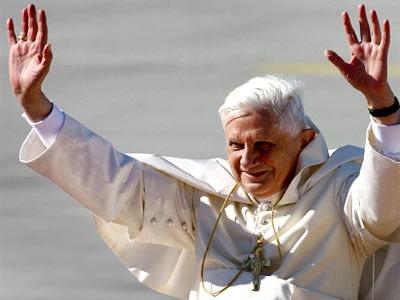 Der Papst ist gelandet