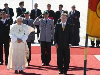 Bundespräsident Horst Köhler und Papst Benedikt XVI.