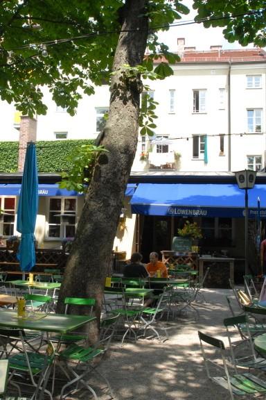 Biergarten Max Emanuel Brauerei, 2006