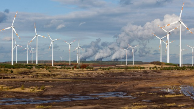 Erneuerbare Windenergie contra Braunkohle