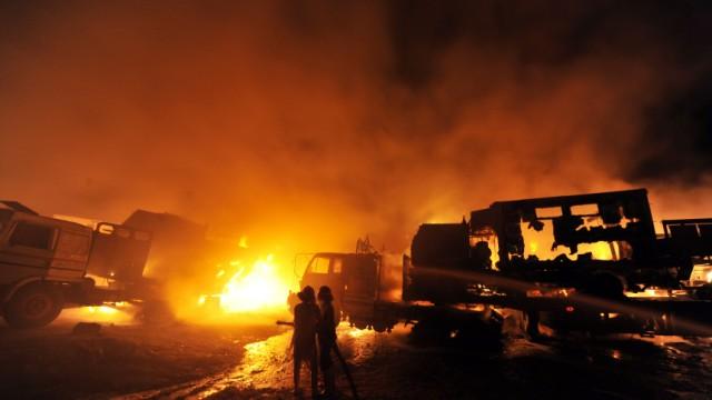 Angriff auf Nato-Konvoi in Pakistan, AFP