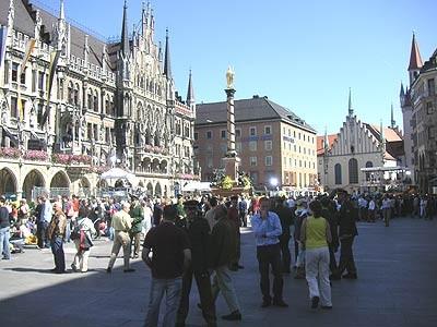 Der Papst in München