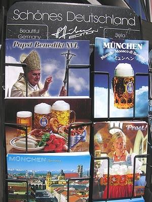 Papst Benedikt XVI. in München