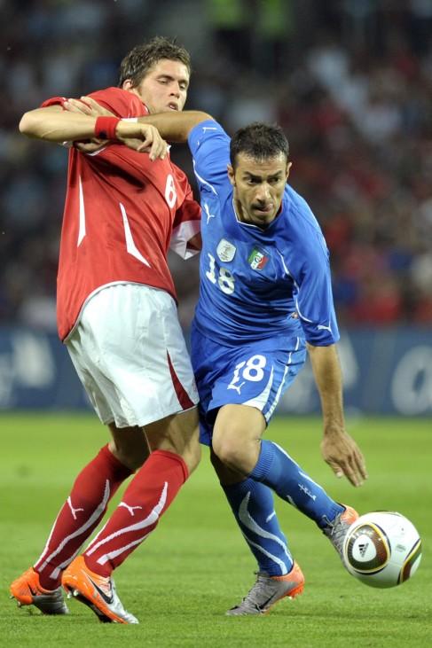 Benjamin Huggel, Fabio Quagliarella