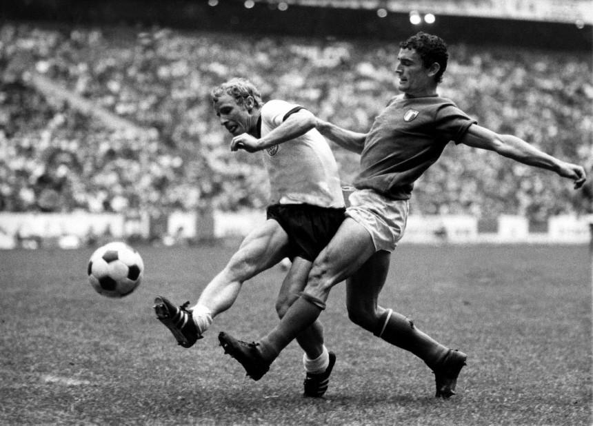 WM-Halbfinale 1970 Deutschland - Italien