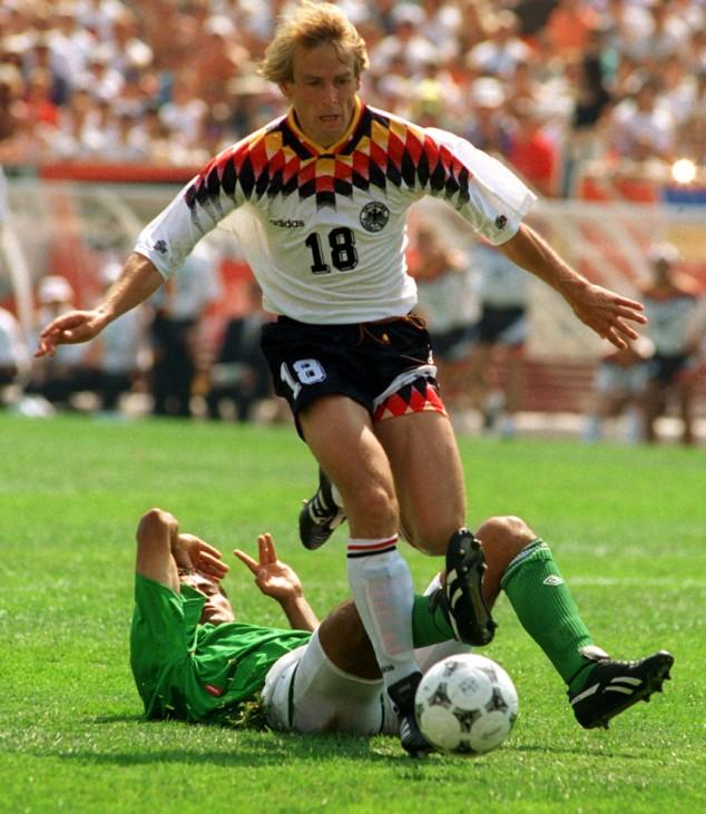 WM 1994 Klinsmann