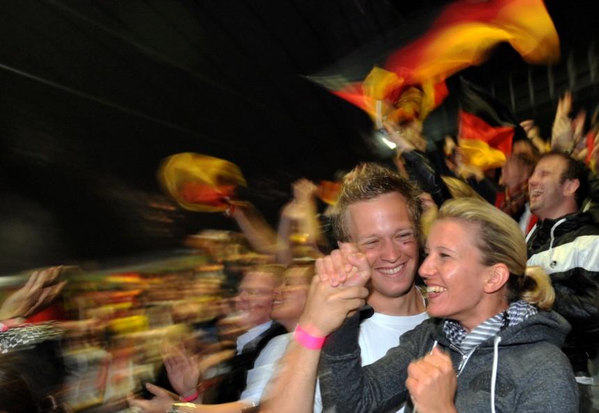WM 2010 - Public Viewing im Olympiastadion München