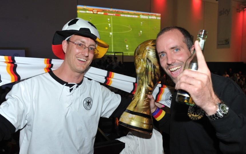 WM 2010 - Public Viewing im P1 in München
