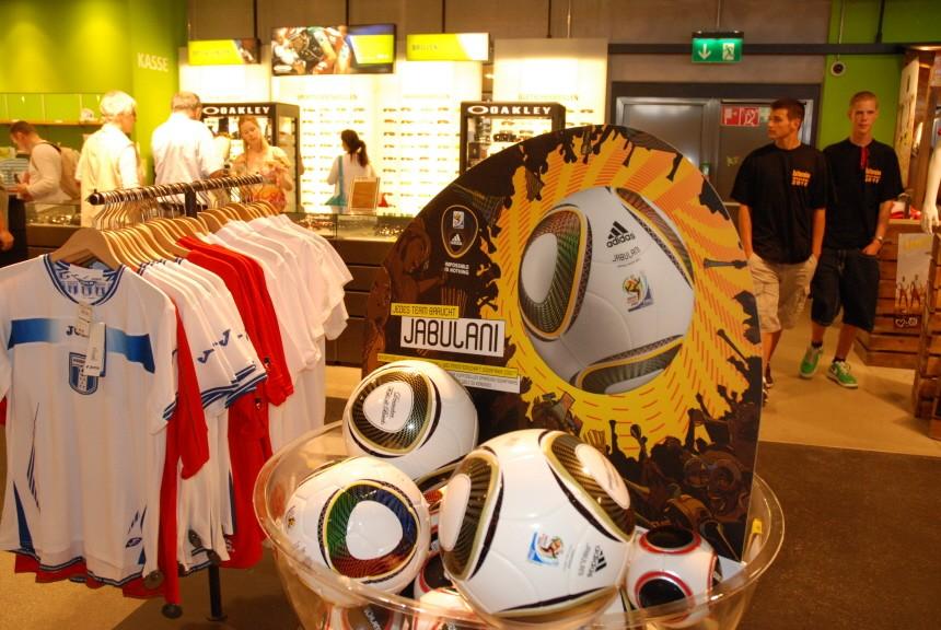 WM-Fanartikel, München, 2010