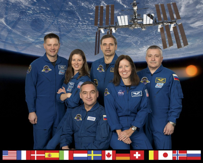 Kinderdienst: Alexander Skworzow uebernimmt in der ISS das Kommando