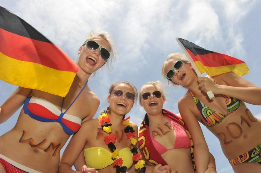 Deutschlandfans vor WM