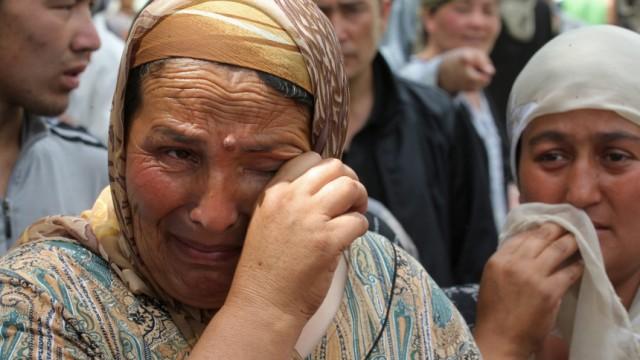 Krise in Kirgistan - Flüchtlinge