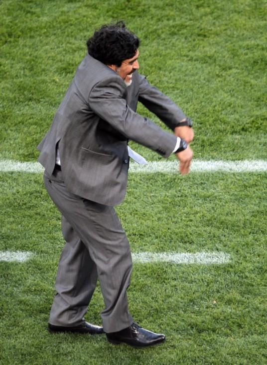 WM 2010 - Argentinien - Nigeria