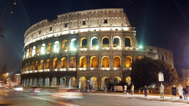 Kolosseum in Rom, Antike, Sehenswürdigkeit