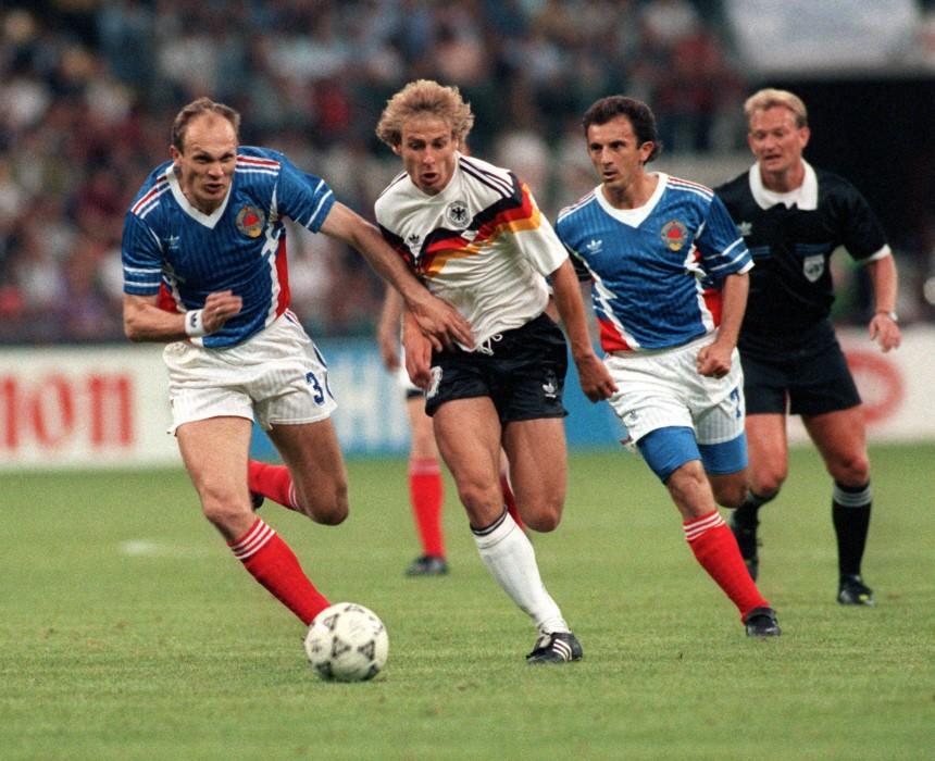 WM2010 - Auftaktsieg Deutschlands bei Fußball-WM '90