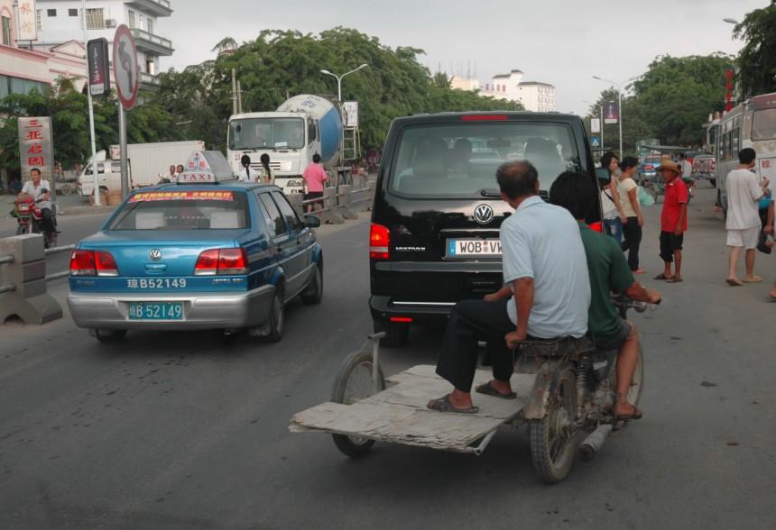 Autofahren in China