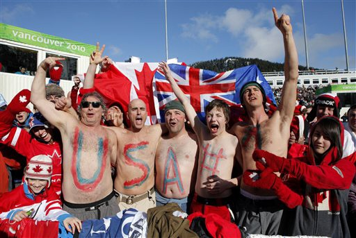 Olympische Spiele in Vancouver: Fans