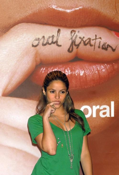 Shakira kündigt US-Tournee 'Oral Fixation' an