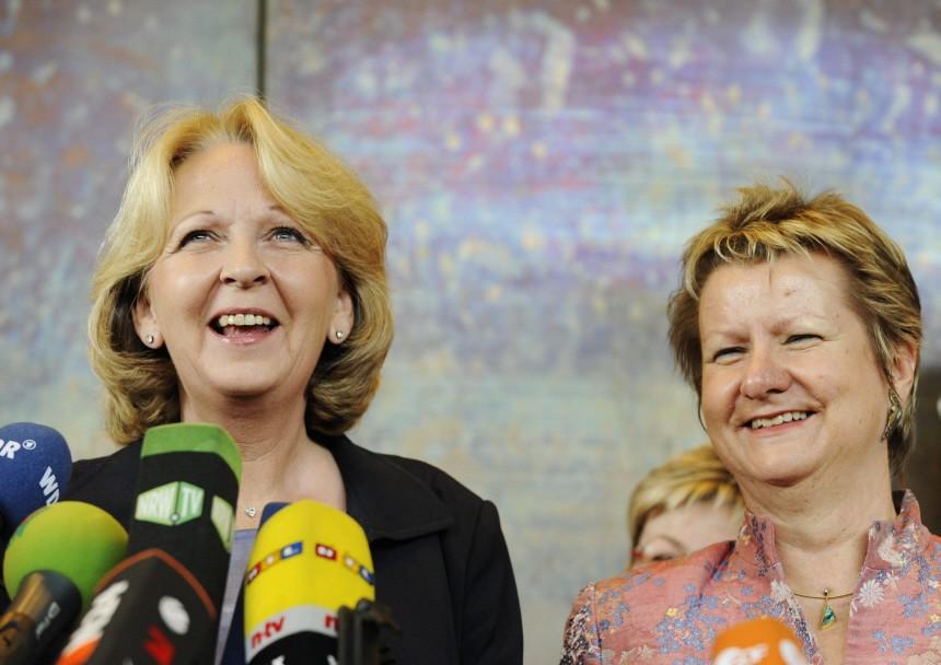 Rot-gruene Minderheitsregierung in NRW geplant