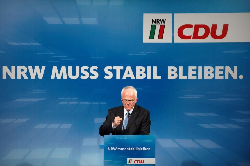 Wahlkampf NRW - Rede von Jürgen Rüttgers in Bielefeld