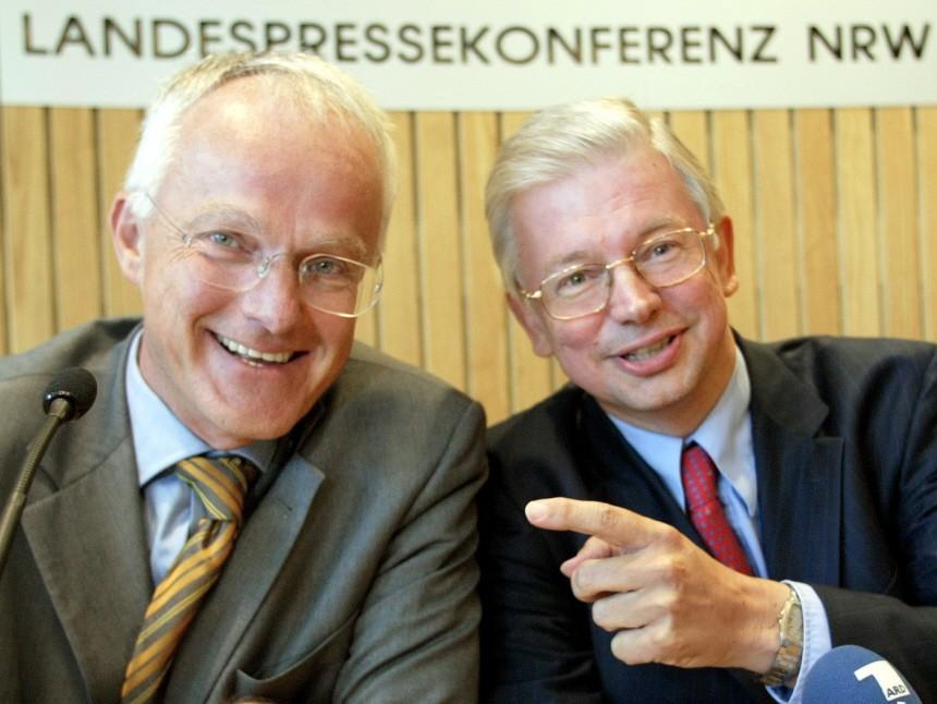 Roland Koch und Jürgen Rüttgers