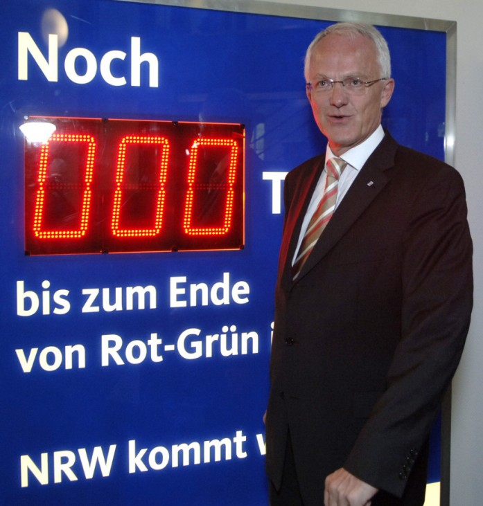 Landtagswahl in Nordrhein-Westfalen, 2005