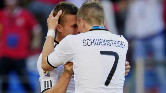 WM 2010: Deutschland - Serbien