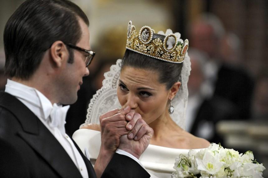Hochzeit Prinzessin Victoria - Trauung