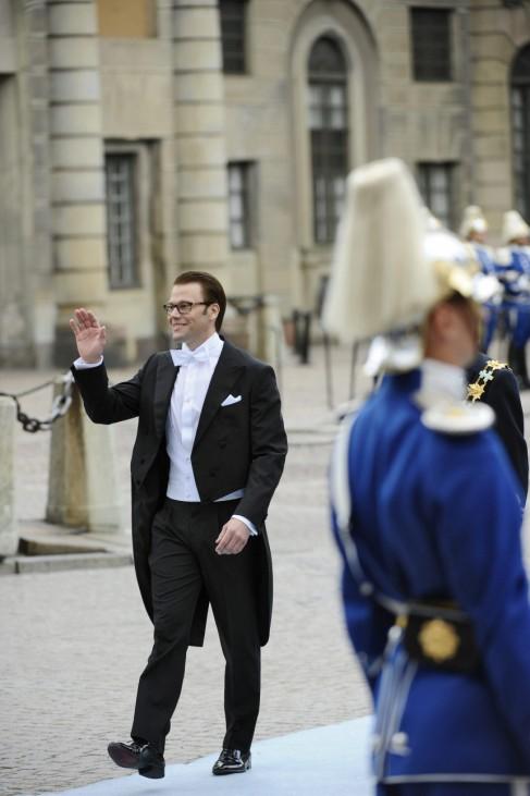 Hochzeit Prinzessin Victoria - Ankunft Bräutigam