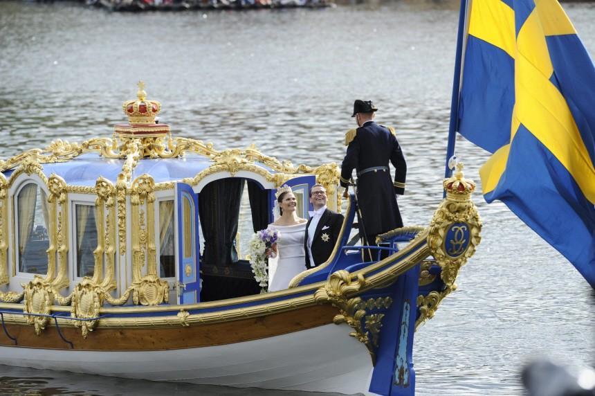 Hochzeit Prinzessin Victoria - Brautpaar