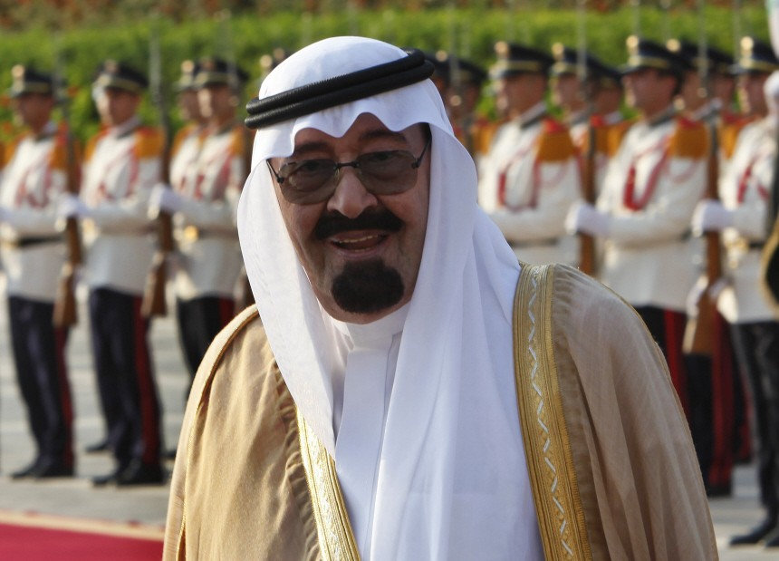 King Abdullah bin Abdul Aziz al-Saud