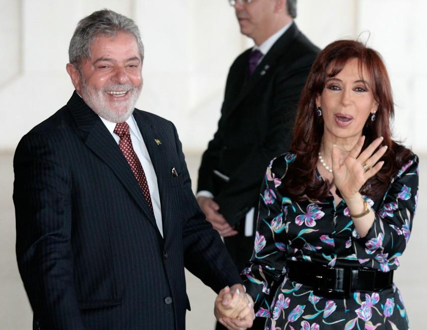 Luiz Inacio Lula da Silva, Cristina Fernandez de Kirchner