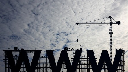 Internet WWW Baustelle