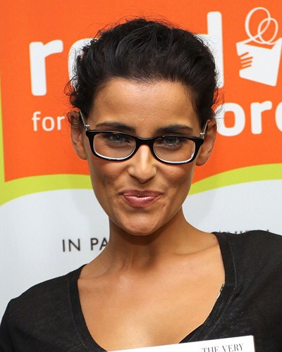 Nelly Furtado Nerd Brille