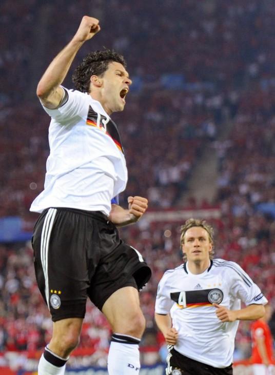 Euro 2008: Oesterreich - Deutschland