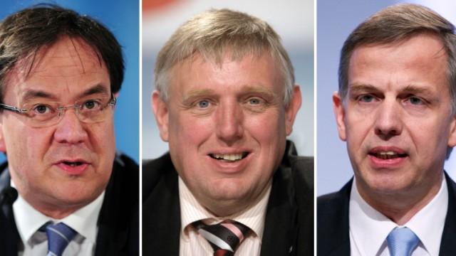 Bildkombo möglicher CDU-Kandidaten in NRW