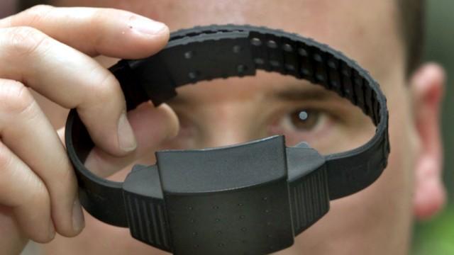 Union will elektronische Fussfessel fuer hochgefaehrliche Straftaeter