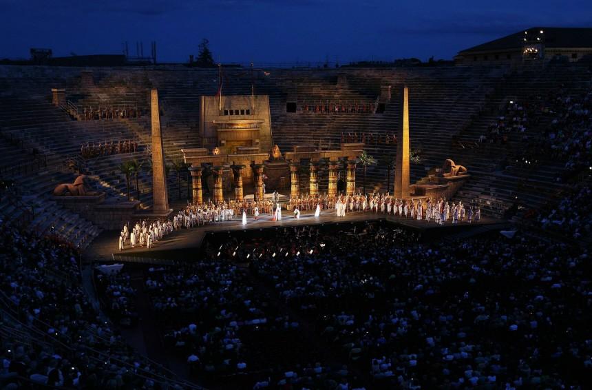 Travel Trip Italy Opera
