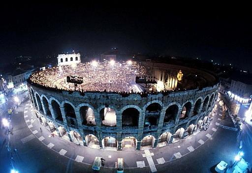 Arena in Verona Italien