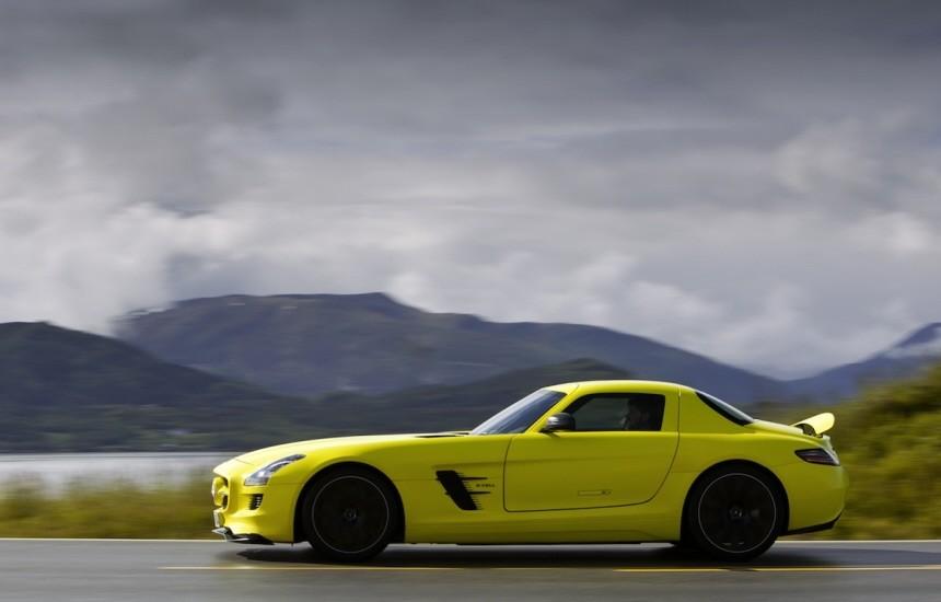 Mercedes SLS E-Cell