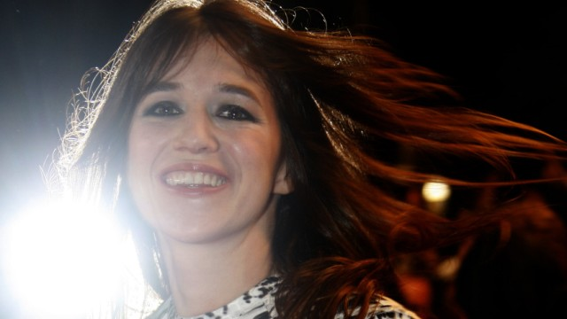Cast member Charlotte Gainsbourg arrives for the screening of the film 'Antichrist' at the 62nd Cannes Film Festival