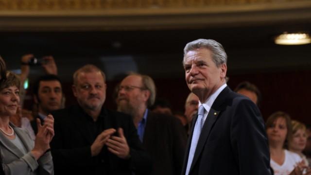 Joachim Gauck, Wolfgang Thierse, Leonard Lansink, Cem Oezdemir