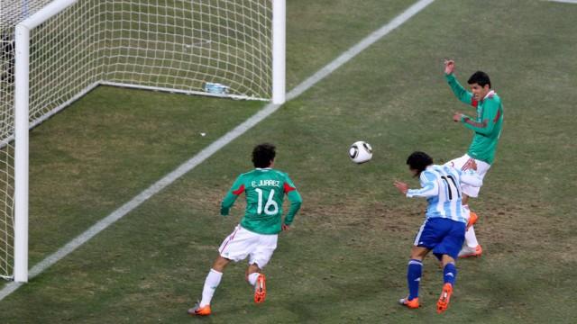 WM 2010 - Argentinien - Mexiko