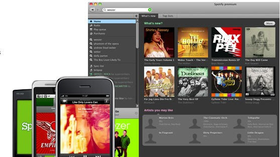 Screenshot Spotify