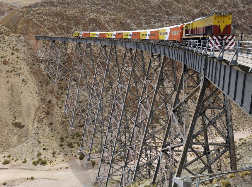 Bahn in Argentinien