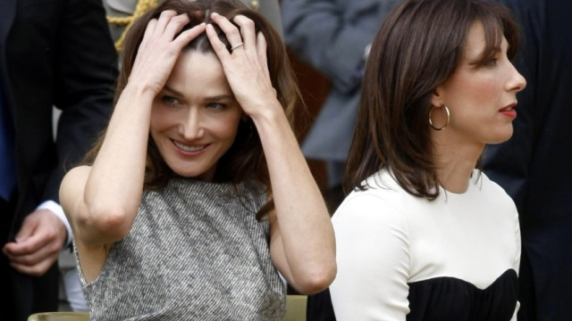 Carla Bruni Sarkozy, Samantha Cameron